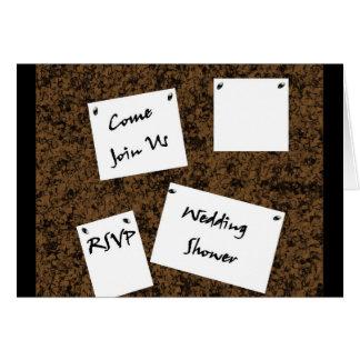 Polterabend-Einladung Grußkarte