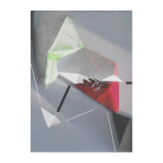 Polygon minimal acryldruck