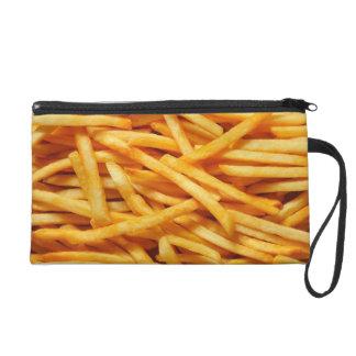 Pommes-Friteskosmetik-Tasche Wristlet Handtasche