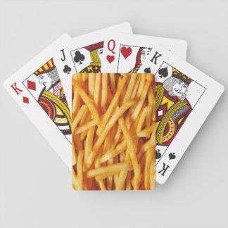 Pommes-FritesSpielkarten Spielkarte
