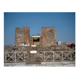 Pompeji, ausgegrabenes Landhaus Postkarte