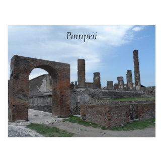 Pompeji, Italien Postkarte