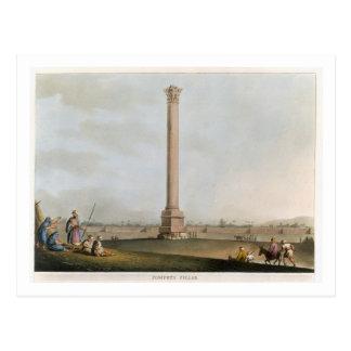 """Pompeys Säule, überziehen 14 """"von den Ansichten in Postkarte"""