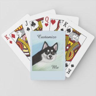 Pomsky Hundekarten Spielkarten