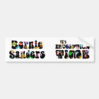 Ponceuses 2016 de flower power Bernie Autocollant De Voiture