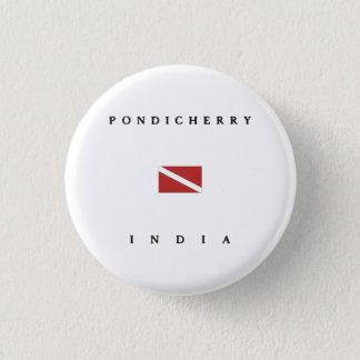 Pondicherry Indien Runder Button 2,5 Cm