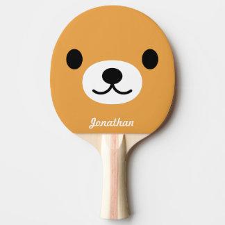 Pong Ping der Kinder niedliches der Bärpaddel Tischtennis Schläger