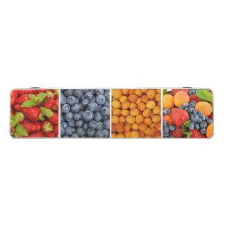 Pong Tabelle mit Früchten und Beerendruck Beer Pong Tisch