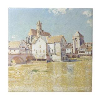 Pont de Moret dans le Soleil du matin durch Alfred Fliese