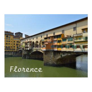 Ponte Vecchio Postkarte