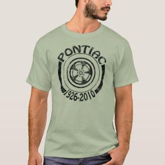 Pontiac 1926 - Logo-Dunkelheit 2010 der T-Shirt