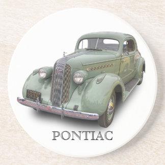 PONTIAC 1935 SANDSTEIN UNTERSETZER