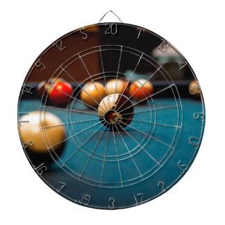 Pool-Ball-Tabelle Dartscheibe