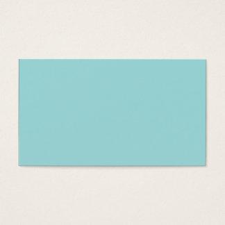 Pool-blaues personalisiertes Aqua-aquamariner Visitenkarte