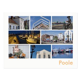 Poole Multibild Postkarte