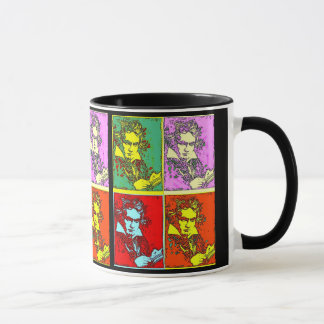 Pop-Art Beethoven Tasse