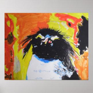 Pop Art Pinguin Poster