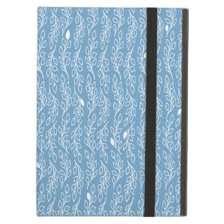 Pop-Blumen-Blätterblau-iPad Air ケース