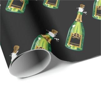 Pop die mit Ziegeln gedeckte Verpackung Korken Geschenkpapier