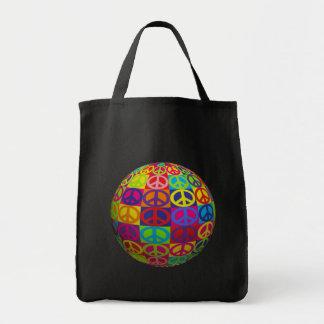 Pop-Friedensball Tragetasche