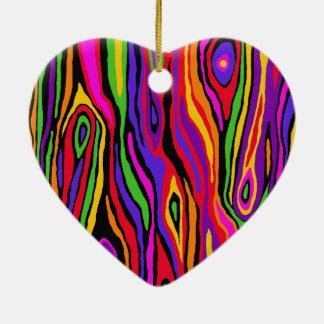 Pop-Imitat Bois Keramik Ornament