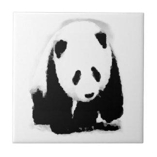Pop-Kunst-Baby-Panda Fliese