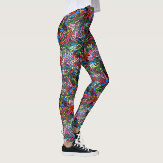 Pop-Kunst durch Tami Leggings