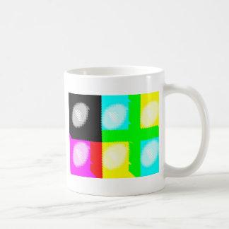 Pop-Kunst-Fleck Kaffeetasse