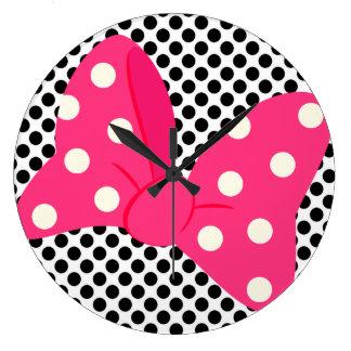 Pop-Kunst-Girly Uhr
