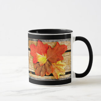 Pop-Kunst-Herbstlaub Tasse
