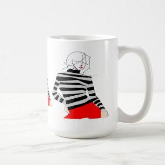 Pop-Kunst-Mode-Tasse Tasse