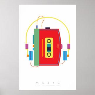 Pop-Kunst-Plakat-70er-80er | des Poster