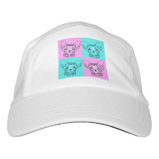 Pop-Kunst Sphynx Kätzchen-Hut Headsweats Kappe