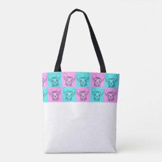 Pop-Kunst Sphynx Kätzchen-Tasche Tasche