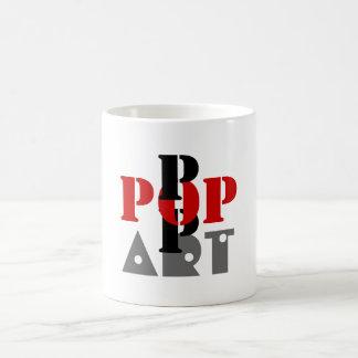 Pop-Kunst-Tasse Tasse