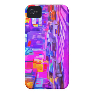 Pop-Kunst-Times Square iPhone 4 Cover