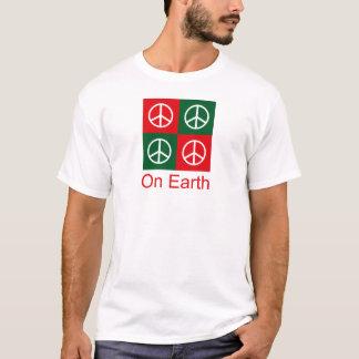 Pop-Kunst-Weihnachten-FRIEDEN T-Shirt