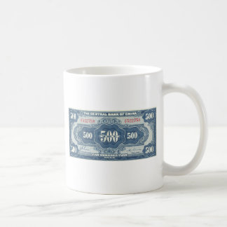 Pop-Kunst Yuan 500 Tasse