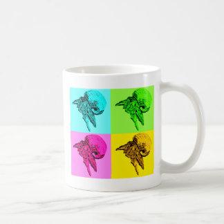 Pop-Kunstviola-Einsiedler-Krabben-Entwurfs-Tasse Tasse