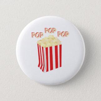 Pop-Popcorn Runder Button 5,7 Cm