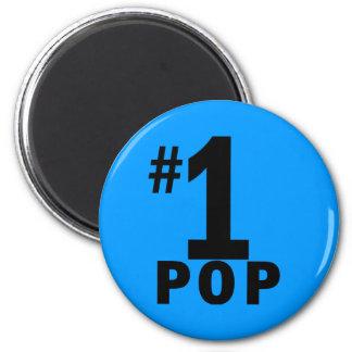 Pop-Produkte der Nr.-eine Runder Magnet 5,7 Cm