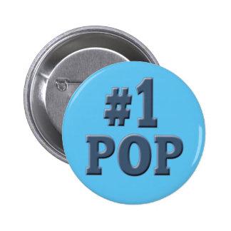 Pop-Vatertag der Nr.-eine Button