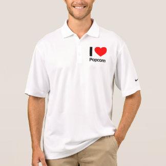 Popcorn der Liebe I Polo Shirt