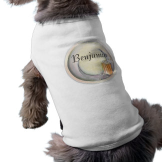 Popcorn-Hundeshirt Top