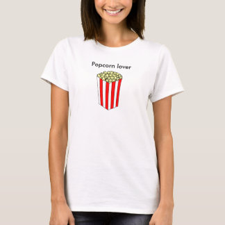 Popcorn-Liebhaber-T - Shirt