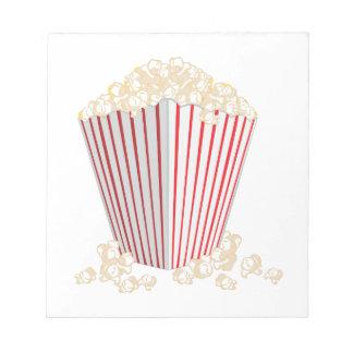 Popcorn Notizblock
