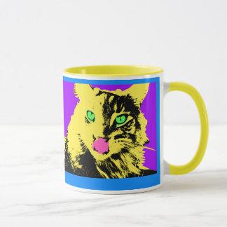 Popkatzenkunst Tasse