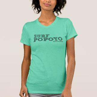 Popoyo Nicaragua die Brandung der Frauen T-Shirt