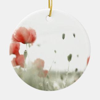 Poppies Keramik Ornament