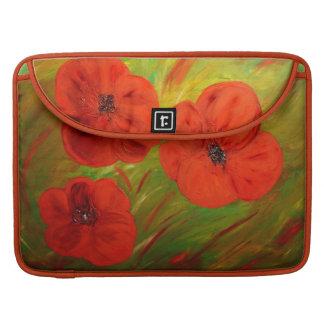 poppies sleeve für MacBook pro